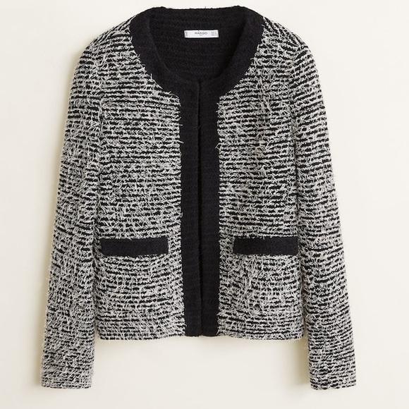 Tweed 'Chanel' looking Jacket by Mango! 😍